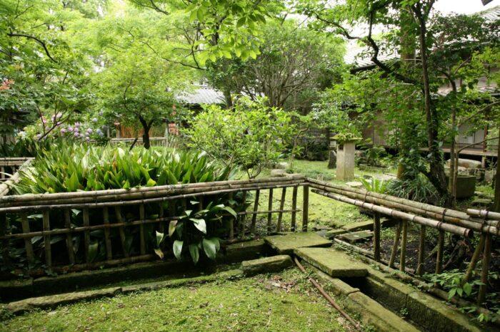 石田城五島氏庭園