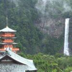 梅雨時の那智の滝