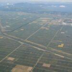 空から見る日本 秋田 八郎潟