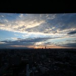東京都文京区 文京シビックセンターから見る風景