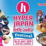 ヨーロッパ最大級・イギリス最大の日本カルチャー&音楽フェスティバル 『ハイパージャパン フェスティバル 2015』 7月10日~12日開催