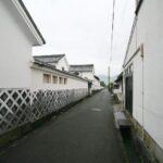 萩城下町 萩の古い街並み