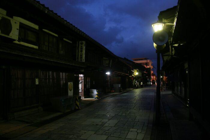 金屋町重要伝統的建造物群保存地区