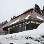 銀山温泉周辺の町並み 伝統的家屋 上柳渡戸 六沢