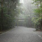 雨上がりの神社
