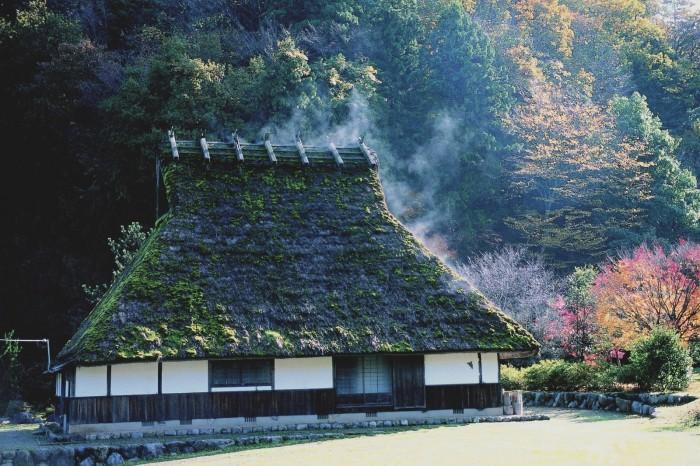 おおい町名田庄地区 かやぶき家