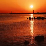 三国港突堤(エッセル堤)