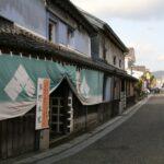 日田の古い町並み