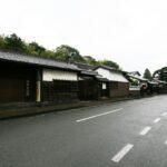 松江の古い町並み 武家屋敷