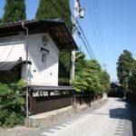 長野の古い町並み 松本市波田上波田