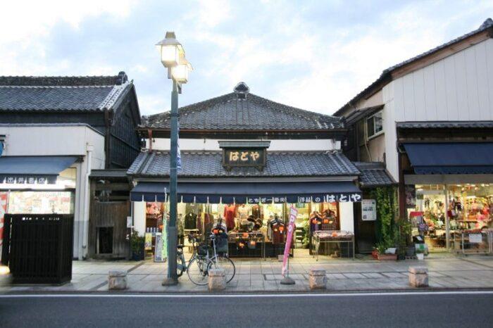 栃木市の町並み
