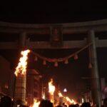 日本三奇祭 吉田の火祭