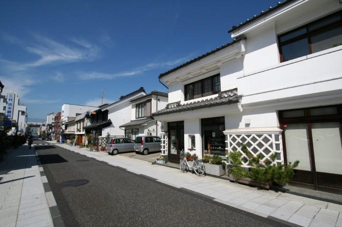 松本の古い町並み