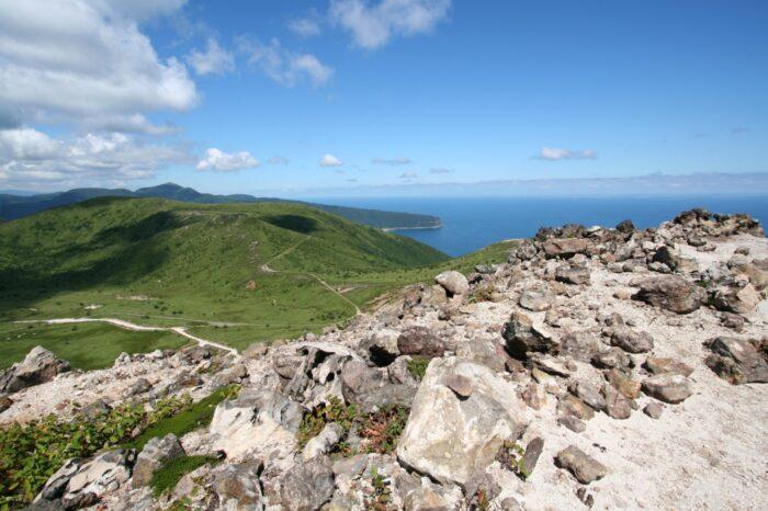 恵山から見る風景
