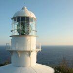 室戸岬灯台と4つの弾痕