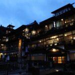 宵闇の銀山温泉