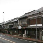 筑後吉井の町並み