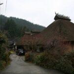 うきは市新川田篭 伝統的建造物群保存地区