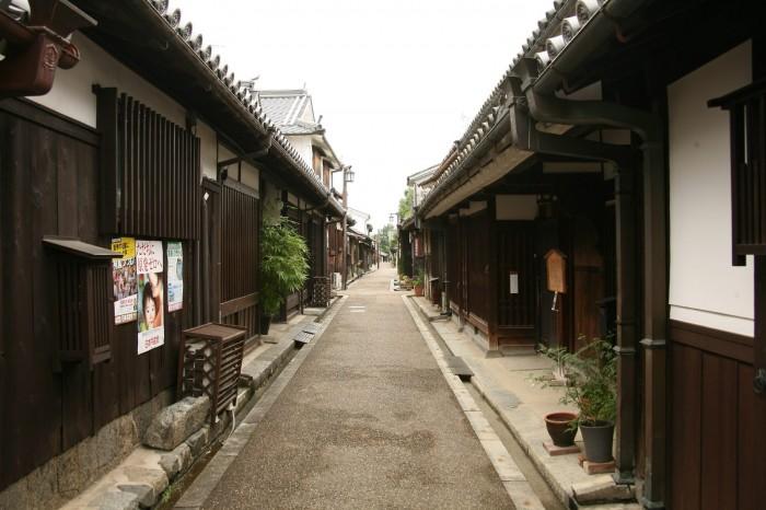 今井町の古い町並み