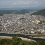 岐阜城 天守閣からの眺め