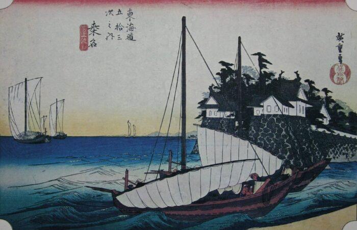 東海道五十三次 桑名