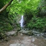 新緑の中の名瀑「払沢の滝」