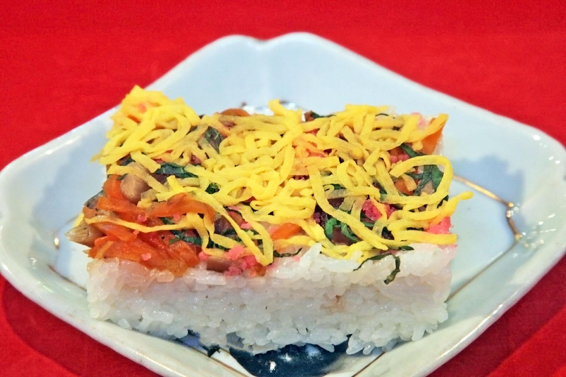 岩国の郷土料理「岩国寿司」