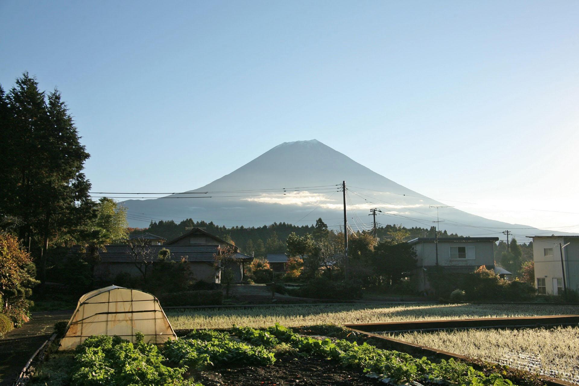 富士宮市の富士山