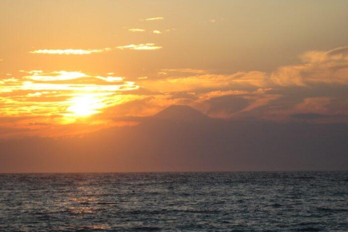 富士山のある風景 富士山から見る風景