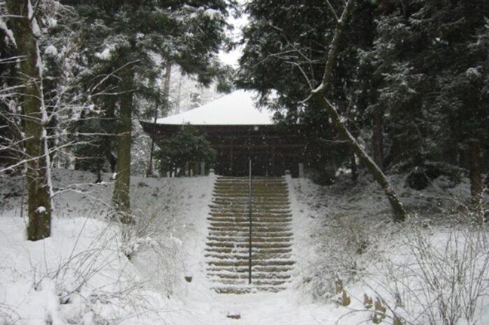 日本各地の冬の風景「長野」