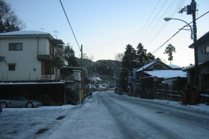 日本各地の冬の風景「東京 奥多摩」