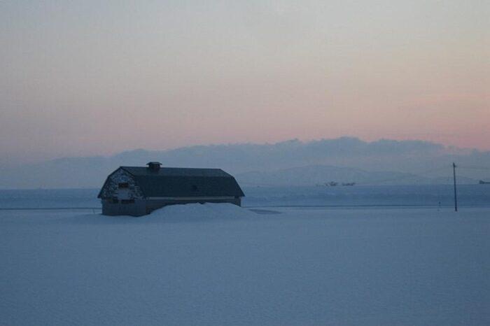 日本各地の冬の風景「北海道」