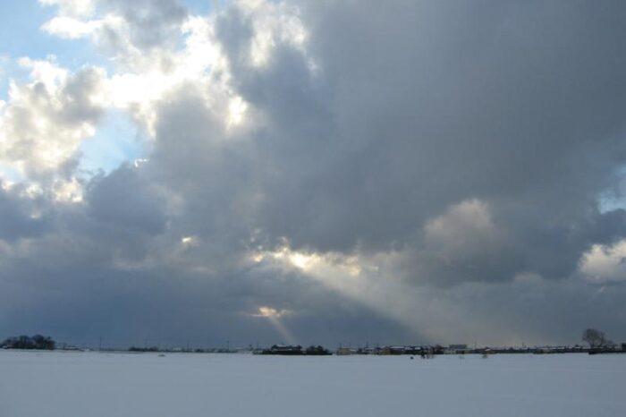 日本各地の冬の風景「石川」