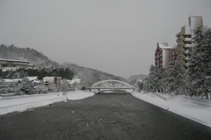 日本各地の冬の風景「石川 金沢」