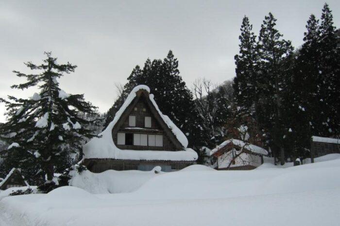 日本各地の冬の風景「富山 五箇山」