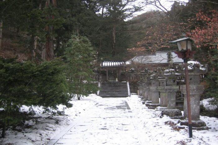 日本各地の冬の風景「日光」