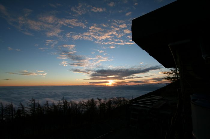 富士山から見る風景