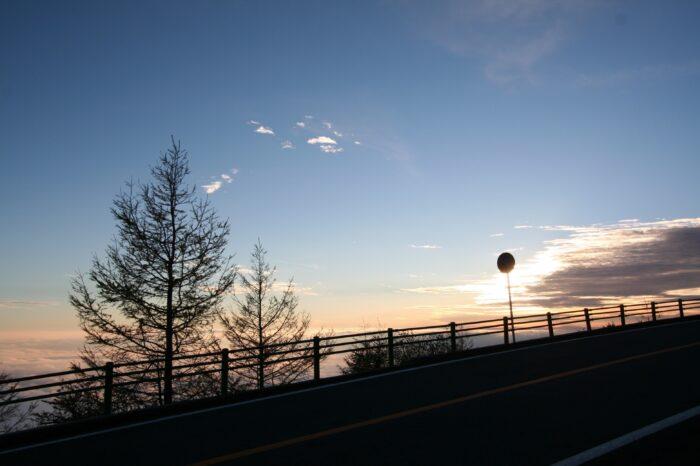 富士宮五合目駐車場付近