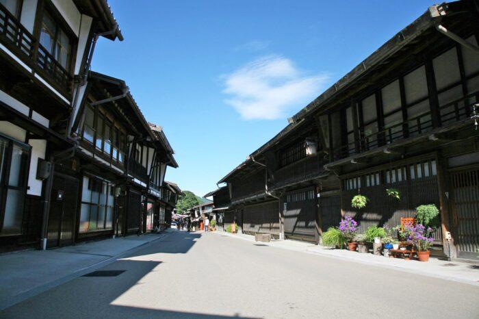 江戸時代の美しい町並み 江戸の情緒を求めて中山道の宿場町 木曽「奈良井宿」へ