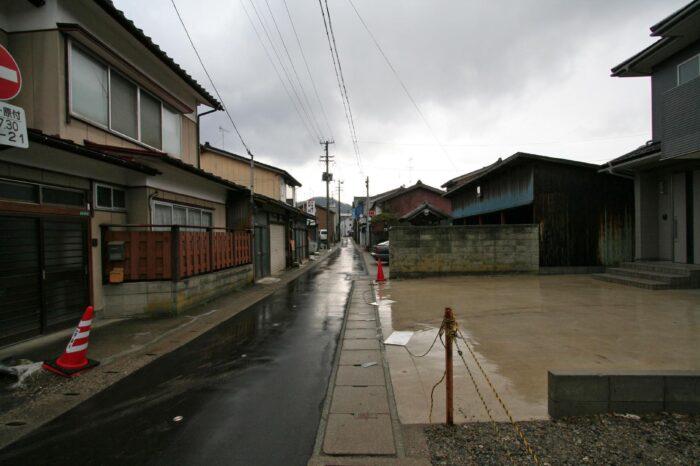 村上の風景
