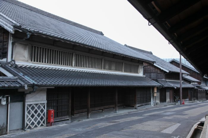 日本の美しい町並み「有松の旧東海道沿いの町並み」