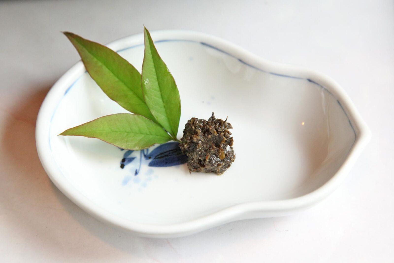 フキ味噌(フキノトウ味噌)