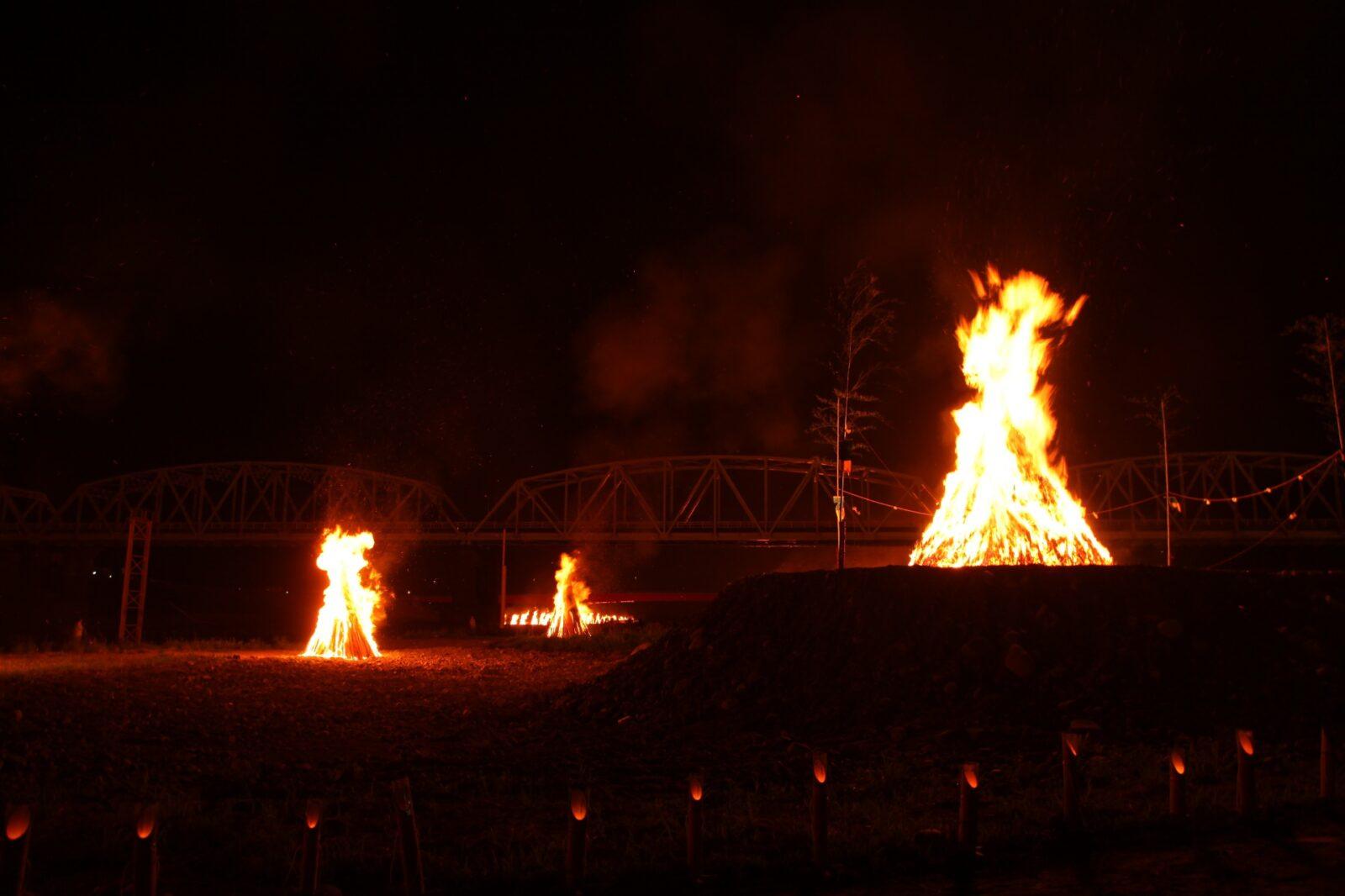 南部の火祭り